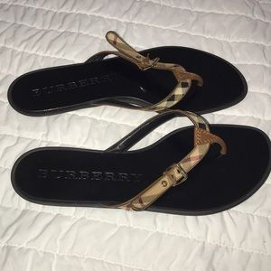 Burberry sandals size 39 EU - US 9